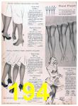 1957 Sears Spring Summer Catalog, Page 194