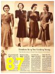 1940 Sears Fall Winter Catalog, Page 87