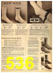 1962 Sears Fall Winter Catalog, Page 536