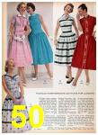 1957 Sears Spring Summer Catalog, Page 50