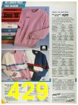 1986 Sears Spring Summer Catalog, Page 429