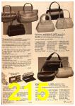 1964 Sears Spring Summer Catalog, Page 215