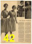 1961 Sears Spring Summer Catalog, Page 42