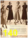 1949 Sears Spring Summer Catalog, Page 140