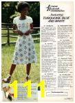1977 Sears Spring Summer Catalog, Page 111