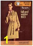1973 Sears Fall Winter Catalog, Page 1