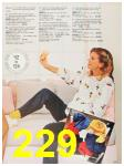 1987 Sears Fall Winter Catalog, Page 229