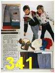 1986 Sears Fall Winter Catalog, Page 341