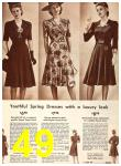 1942 Sears Spring Summer Catalog, Page 49