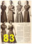 1956 Sears Fall Winter Catalog, Page 83