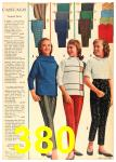 1962 Sears Fall Winter Catalog, Page 380