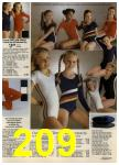 1980 Sears Fall Winter Catalog, Page 209