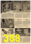 1961 Sears Spring Summer Catalog, Page 388