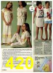 1980 Sears Spring Summer Catalog, Page 420