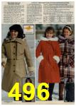 1979 Sears Fall Winter Catalog, Page 496
