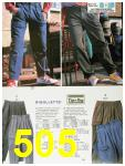 1988 Sears Fall Winter Catalog, Page 505