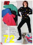 1986 Sears Fall Winter Catalog, Page 72