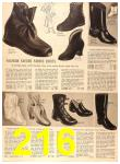 1956 Sears Fall Winter Catalog, Page 216