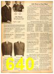 1958 Sears Fall Winter Catalog, Page 640