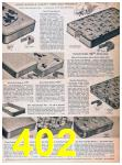 1957 Sears Spring Summer Catalog, Page 402