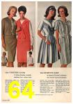 1964 Sears Spring Summer Catalog, Page 64