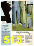 1975 Sears Spring Summer Catalog, Page 513