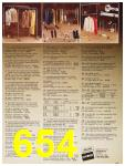 1987 Sears Fall Winter Catalog, Page 654