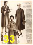 1956 Sears Fall Winter Catalog, Page 33