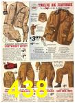 1940 Sears Fall Winter Catalog, Page 438