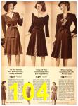 1942 Sears Spring Summer Catalog, Page 104