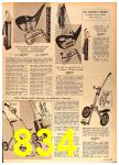 1964 Sears Spring Summer Catalog, Page 834