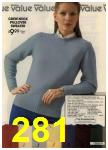 1980 Sears Fall Winter Catalog, Page 281