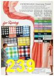 1967 Sears Spring Summer Catalog, Page 239
