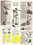 1969 Sears Spring Summer Catalog, Page 738