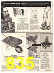 1974 Sears Fall Winter Catalog, Page 835