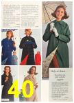 1963 Sears Fall Winter Catalog, Page 40
