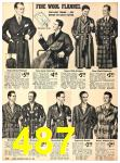 1940 Sears Fall Winter Catalog, Page 487