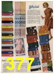 1962 Sears Spring Summer Catalog, Page 377