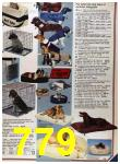 1986 Sears Fall Winter Catalog, Page 779