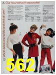 1988 Sears Fall Winter Catalog, Page 562
