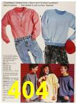 1987 Sears Fall Winter Catalog, Page 404