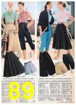 1957 Sears Spring Summer Catalog, Page 89