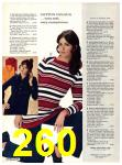 1971 Sears Fall Winter Catalog, Page 260