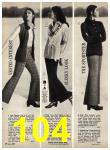 1969 Sears Fall Winter Catalog, Page 104