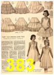 1956 Sears Fall Winter Catalog, Page 383