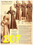 1940 Sears Fall Winter Catalog, Page 207