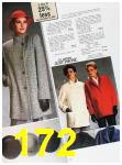 1985 Sears Fall Winter Catalog, Page 172