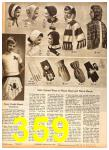 1958 Sears Fall Winter Catalog, Page 359