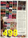 1969 Sears Fall Winter Catalog, Page 498