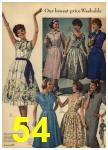 1959 Sears Spring Summer Catalog, Page 54